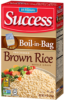 Success Brown Rice The Original Boil In Bag Quick Cooking Offers Similar Nutritional Benefits Of Long But Is Ready