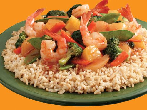 Success - Hawaiian Shrimp Stir-Fry with Brown Rice - Success® ... the ...