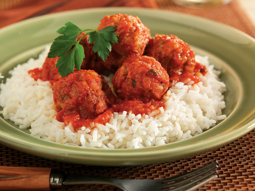 How To Cook Meatballs With Rice